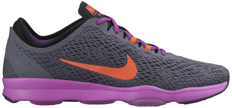 Nike Air Zoom Fit Dark Grey/Hypr Orange-Vvd Prpl 36