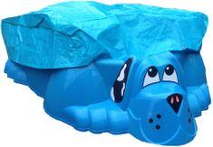 Marian Plast Kutya alakú homokozó/medence fedéllel