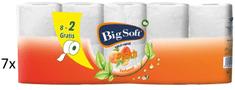Big Soft Peach toaletni papir, 2-slojni, 7 x 10 rola