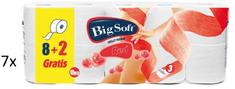 Big Soft Red toaletni papir, 3-slojni, 7 x 10 rolic