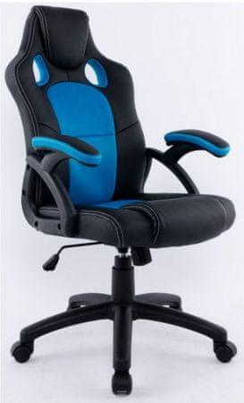 Pisarniški stol HY-9157 modra/črna