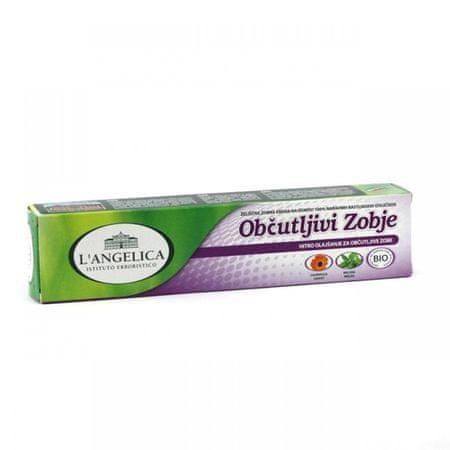 L'Angelica zeliščna zobna pasta za občutljive zobe, 75 ml
