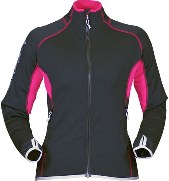 High Point Proton 3.0 Lady Sweatshirt Black/Carmine L