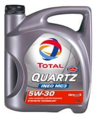 Total motorno ulje Quartz INEO MC3 5W-30, 5l