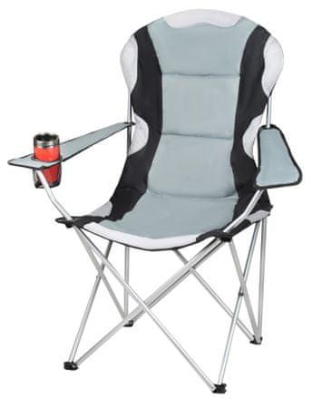 Malatec Krzesło wędkarskie czarno-szare - II jakość