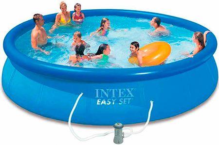 Intex bazen Easy Set, 457 X 84 cm, s filter pumpom (28158NP)