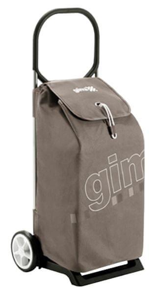 Gimi Nákupní taška na kolečkách Italo hnědá