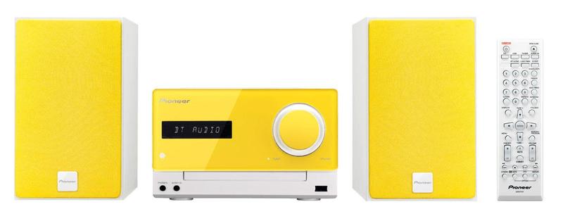 Pioneer X-CM35-Y, žlutá