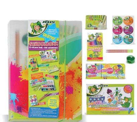 Jolly Set šolskih potrebščin School Box