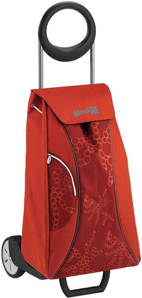 Gimi Market nákupní taška na kolečkách červená