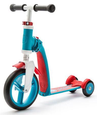 Scoot & Ride Koloběžka Highwaybaby + červená/modrá