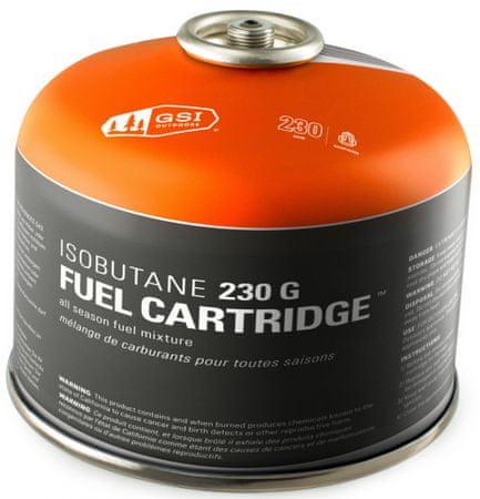 Gsi Isobutane 230 g Fuel Cartridge