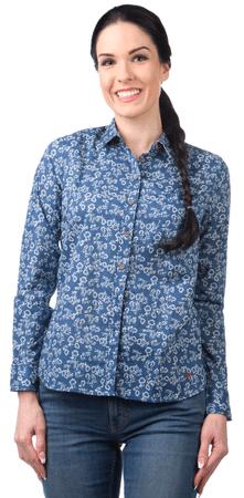 Pepe Jeans dámská bavlněná košile Hope M modrá