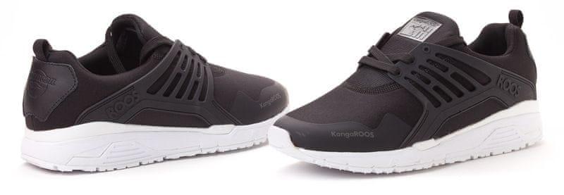 KangaROOS pánské tenisky Runway 44 černá