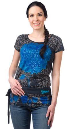 Desigual női tunika XS niebieski