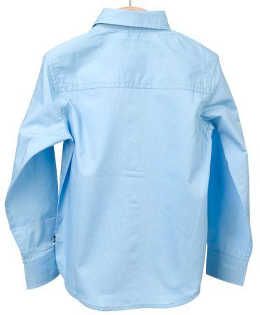 Nautica chlapecká košile 110 světle modrá  cc3b95137d