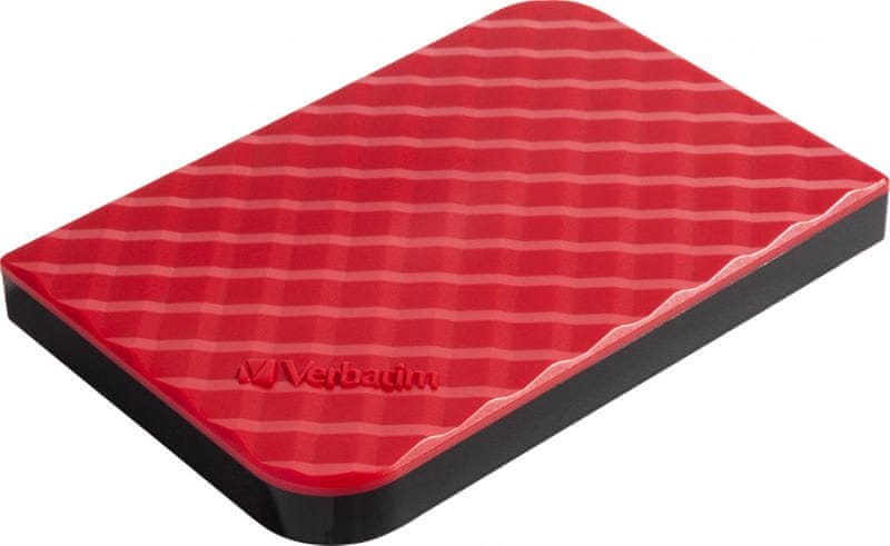 "Verbatim Store 'n' Go GEN2 1TB / Externí / USB 3.0 / 2,5"" / Red (53203)"