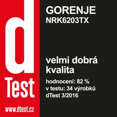 Gorenje kombinirani hladilnik NRK6203TX