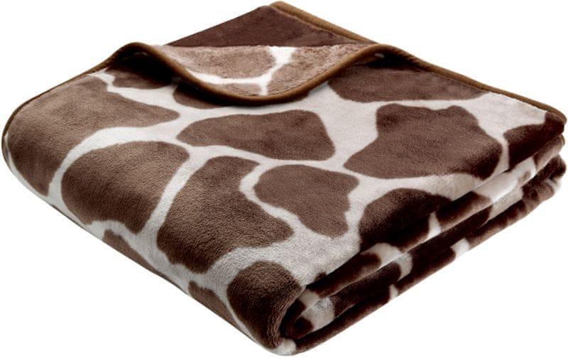 Biederlack Giraffe De luxe 150 x 200 cm