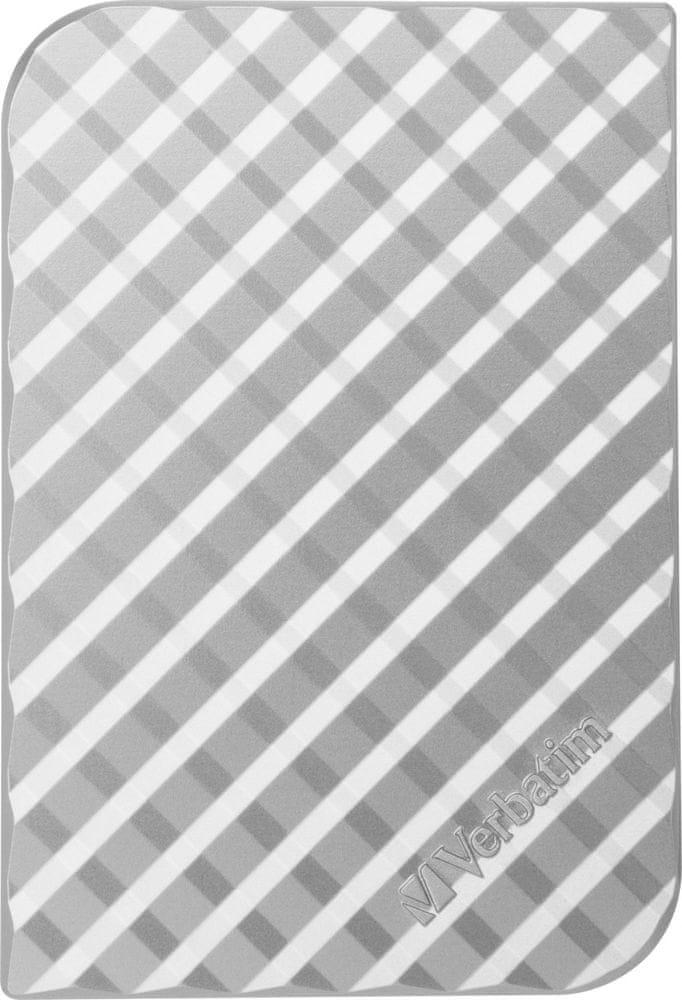 "Verbatim Store 'n' Go GEN2 500GB / Externí / USB 3.0 / 2,5"" / Silver (53196)"