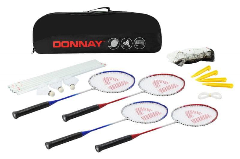 Donnay Badminton set - červená