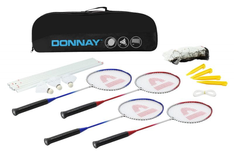 Donnay Badminton set - modrá