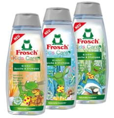 Frosch Sprchový gel a šampon EKO pro děti 3x250ml