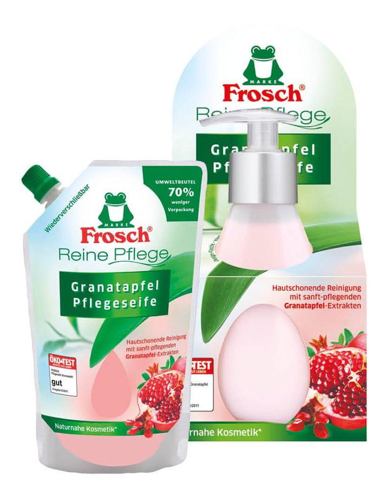 Frosch EKO DUO tekuté mýdlo + náplň Granátové jablko