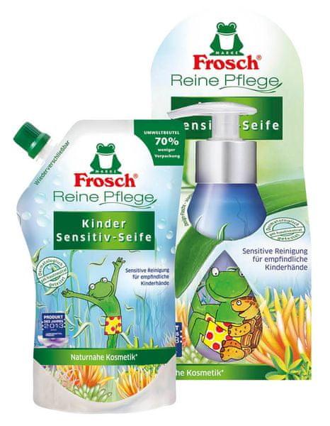 Frosch EKO DUO tekuté mýdlo + náplň pro děti
