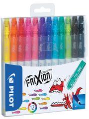 Popisovač Pilot 4204 Frixion Colors sada 12 ks