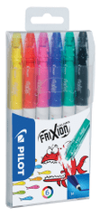 Pilot Popisovač 4204 Frixion Colors sada 6 ks
