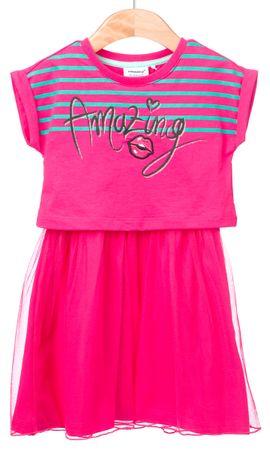 Primigi dívčí šaty 98 růžová