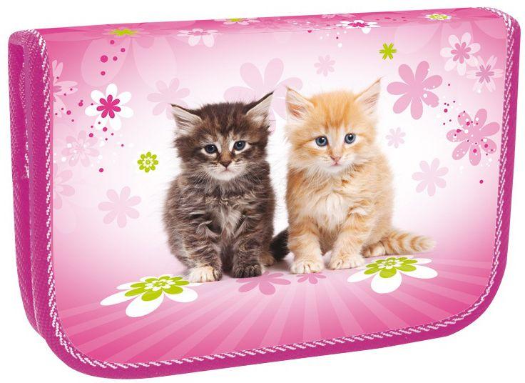 Stil Školní penál jednopatrový Cats