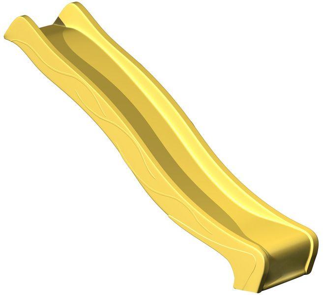 CUBS Skluzavka s přípojkou na vodu 2,95 m žlutá