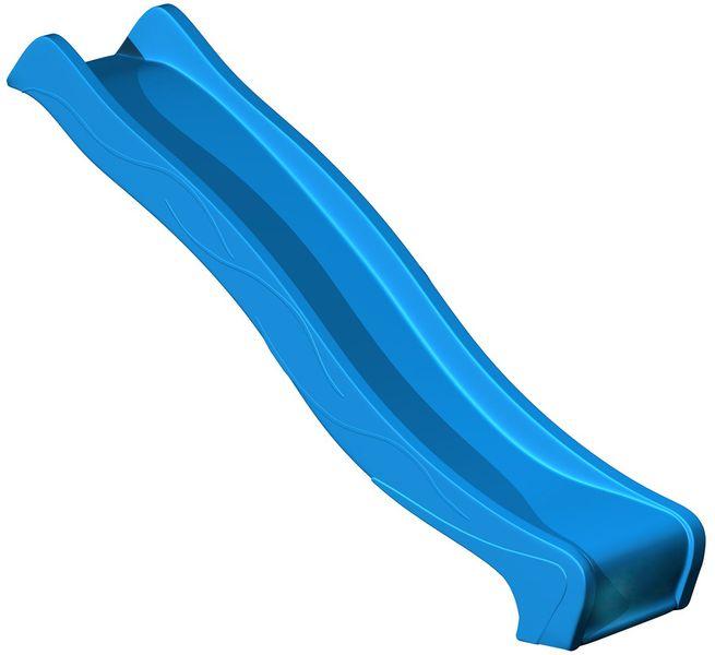 CUBS Skluzavka s přípojkou na vodu 2,95 m modrá
