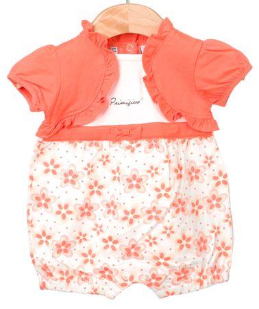 Primigi dekliški kombinezon 68 oranžna
