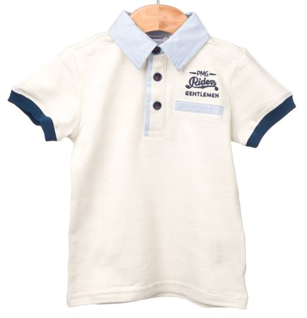 Primigi fantovska polo majica 128 smetane