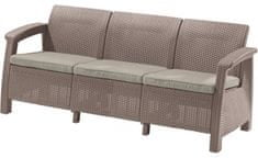Allibert trosed Corfu Love Seat MAX, kapučino (227641)