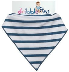 XKKO Dribble Ons Designer Nautical Stripes