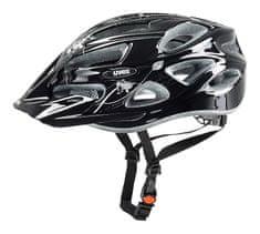 Uvex Onyx Lady Kerékpár sisak, Fekete-Ezüst