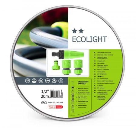 Cellfast cev za vodo Ecolight, 20 m s priključki (10-190)