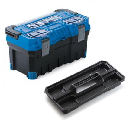 Prosperplast kovček za orodje, 55,4x28,6x27,6 cm