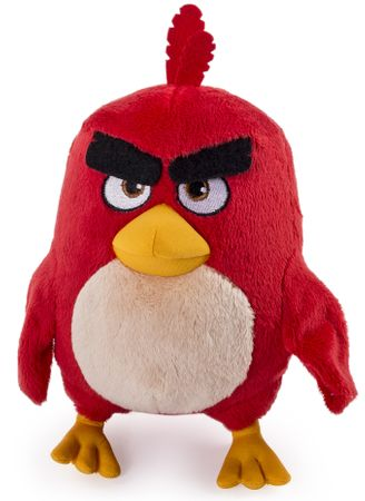 Spin Master Angry Birds luxusný plyš 20 cm Red