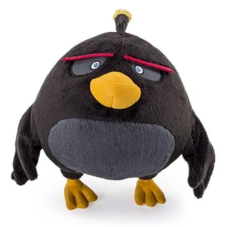 Spin Master Angry Birds luxusní plyš 20 cm Bombas