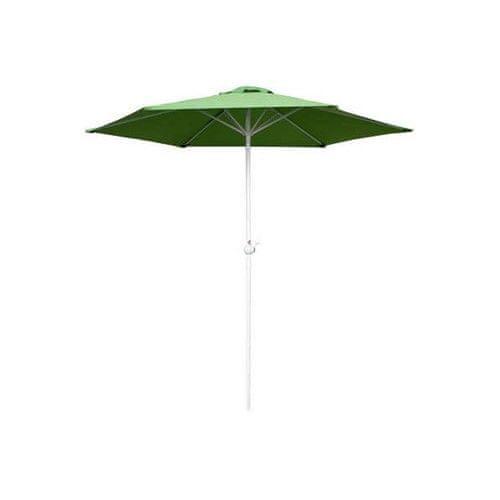 Happy Green Slnečník s kľučkou 230 cm LIGHT GREEN