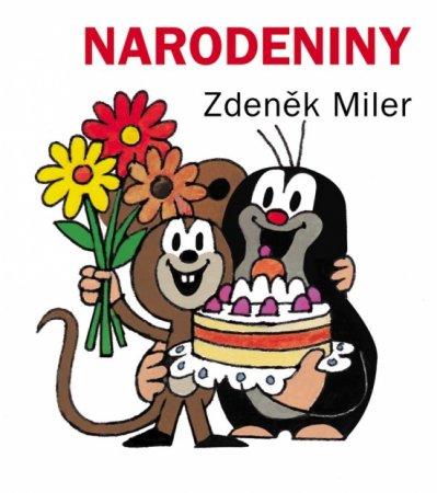Miler Zdeněk: Narodeniny, 2. vyd. (leporelo)