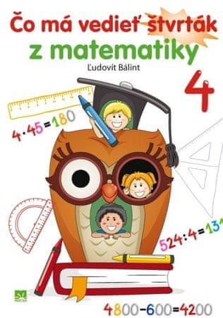 Bálint Ľudovít: Čo má vedieť štvrták z matematiky