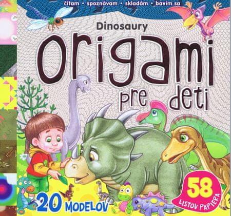 autor neuvedený: Origami pre deti - Dinosaury