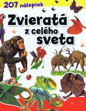 autor neuvedený: Zvieratá z celého sveta - 207 nálepiek