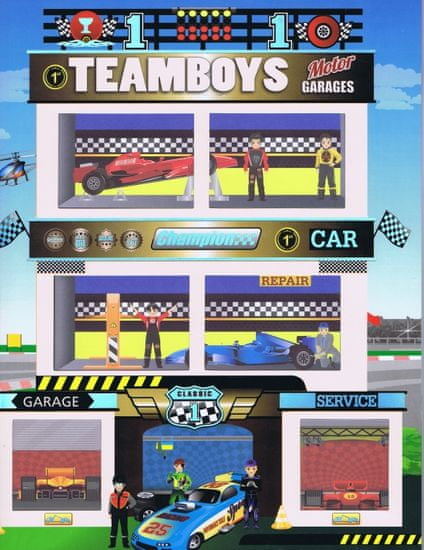 autor neuvedený: Teamboys-Motor Garages